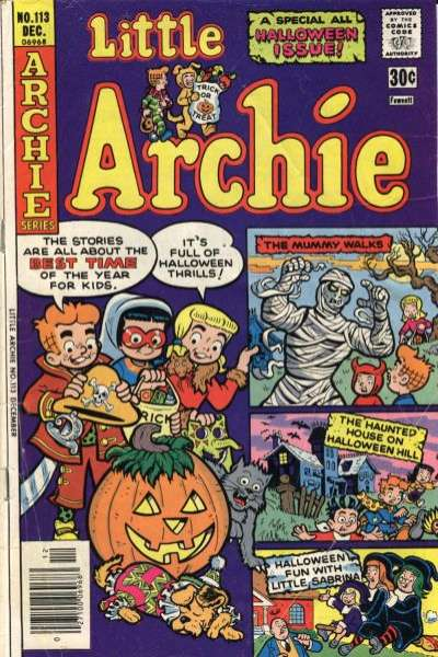 Little Archie #113 Comic Books - Covers, Scans, Photos  in Little Archie Comic Books - Covers, Scans, Gallery