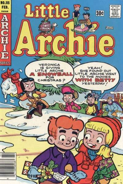 Little Archie #115 Comic Books - Covers, Scans, Photos  in Little Archie Comic Books - Covers, Scans, Gallery