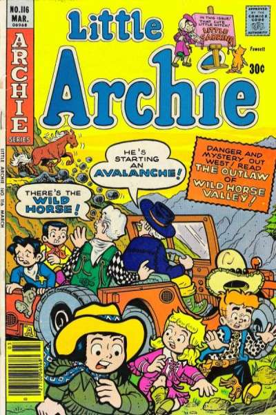 Little Archie #116 Comic Books - Covers, Scans, Photos  in Little Archie Comic Books - Covers, Scans, Gallery