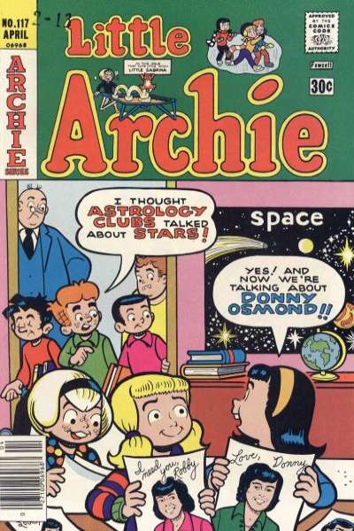 Little Archie #117 comic books for sale