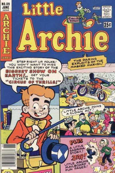Little Archie #119 Comic Books - Covers, Scans, Photos  in Little Archie Comic Books - Covers, Scans, Gallery
