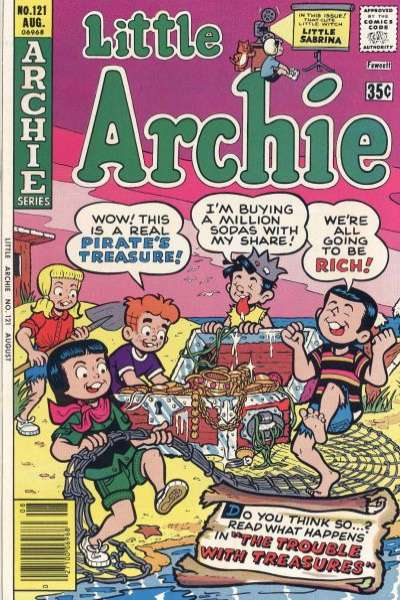 Little Archie #121 Comic Books - Covers, Scans, Photos  in Little Archie Comic Books - Covers, Scans, Gallery