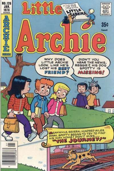 Little Archie #126 cheap bargain discounted comic books Little Archie #126 comic books