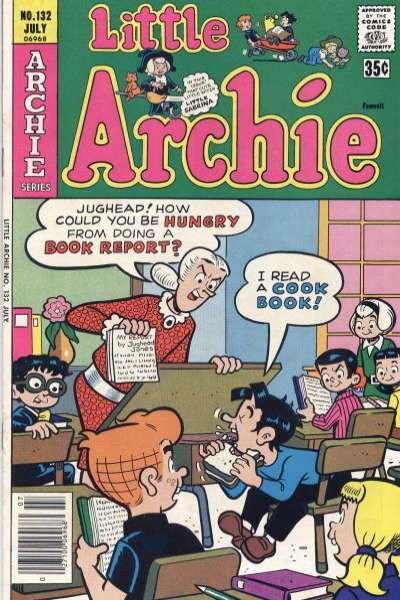 Little Archie #132 Comic Books - Covers, Scans, Photos  in Little Archie Comic Books - Covers, Scans, Gallery
