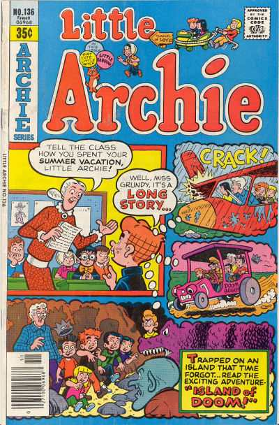 Little Archie #136 Comic Books - Covers, Scans, Photos  in Little Archie Comic Books - Covers, Scans, Gallery