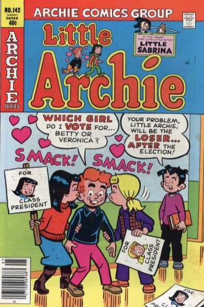 Little Archie #142 Comic Books - Covers, Scans, Photos  in Little Archie Comic Books - Covers, Scans, Gallery