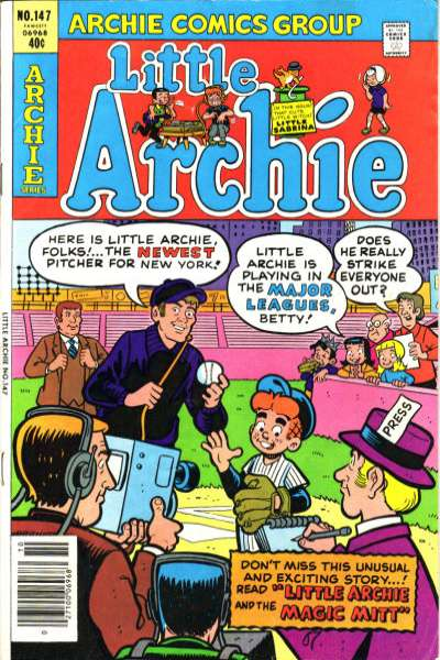 Little Archie #147 Comic Books - Covers, Scans, Photos  in Little Archie Comic Books - Covers, Scans, Gallery