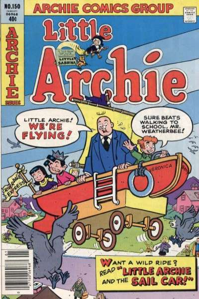 Little Archie #150 Comic Books - Covers, Scans, Photos  in Little Archie Comic Books - Covers, Scans, Gallery