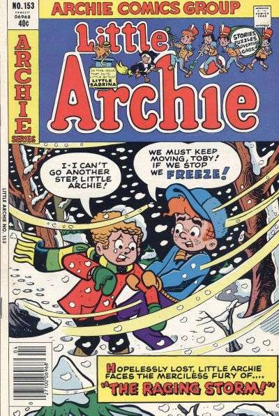 Little Archie #153 Comic Books - Covers, Scans, Photos  in Little Archie Comic Books - Covers, Scans, Gallery