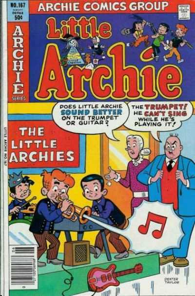 Little Archie #167 Comic Books - Covers, Scans, Photos  in Little Archie Comic Books - Covers, Scans, Gallery