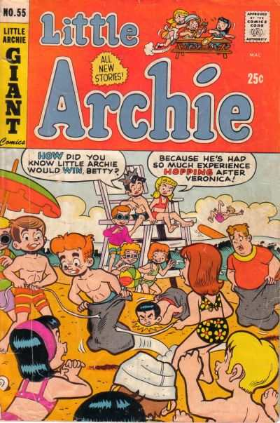 Little Archie #55 Comic Books - Covers, Scans, Photos  in Little Archie Comic Books - Covers, Scans, Gallery