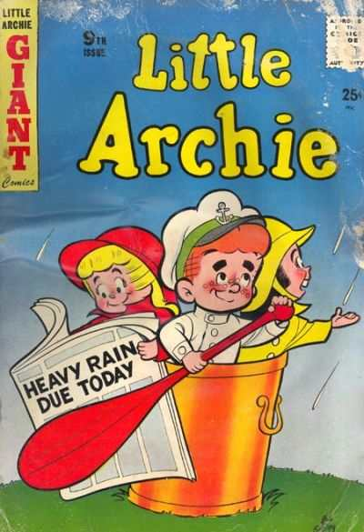 Little Archie #9 Comic Books - Covers, Scans, Photos  in Little Archie Comic Books - Covers, Scans, Gallery