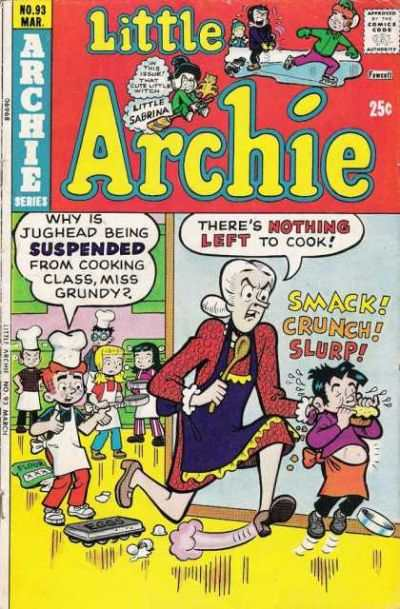 Little Archie #93 comic books - cover scans photos Little Archie #93 comic books - covers, picture gallery