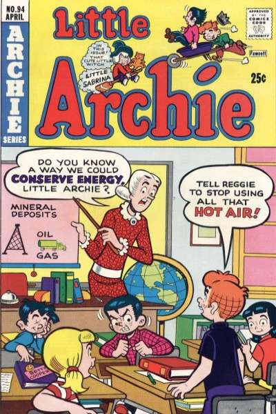 Little Archie #94 Comic Books - Covers, Scans, Photos  in Little Archie Comic Books - Covers, Scans, Gallery