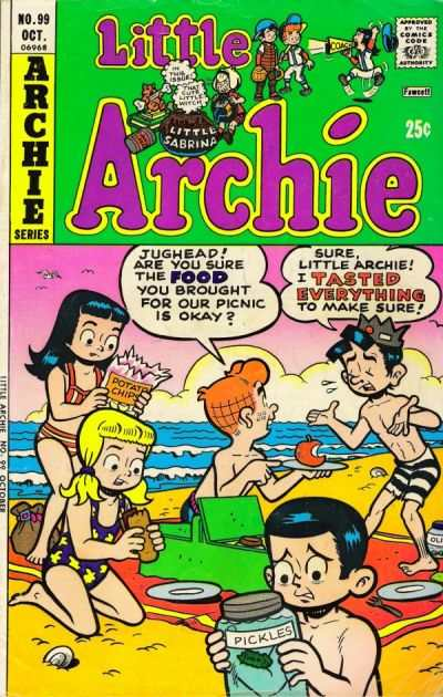 Little Archie #99 comic books - cover scans photos Little Archie #99 comic books - covers, picture gallery