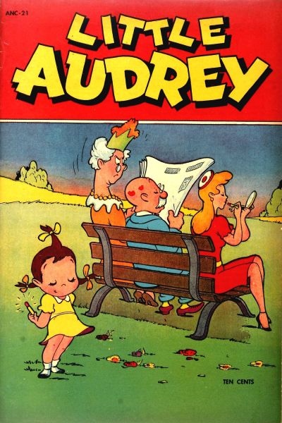 Little Audrey Comic Books. Little Audrey Comics.