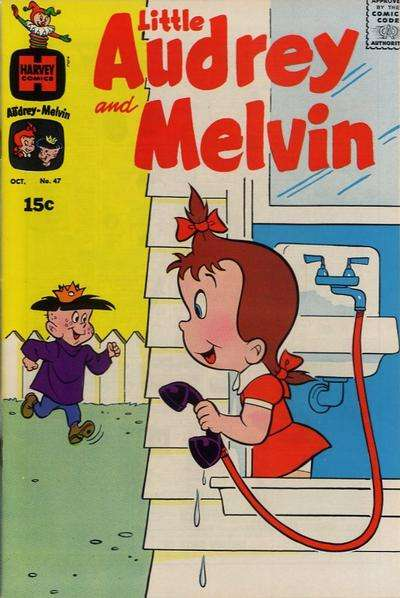 Little Audrey & Melvin #47 comic books for sale
