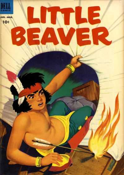 Little Beaver #8 Comic Books - Covers, Scans, Photos  in Little Beaver Comic Books - Covers, Scans, Gallery