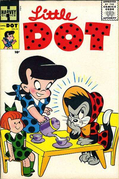 Little Dot #18 comic books - cover scans photos Little Dot #18 comic books - covers, picture gallery
