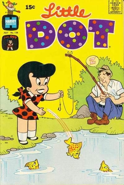 Little Dot #138 Comic Books - Covers, Scans, Photos  in Little Dot Comic Books - Covers, Scans, Gallery