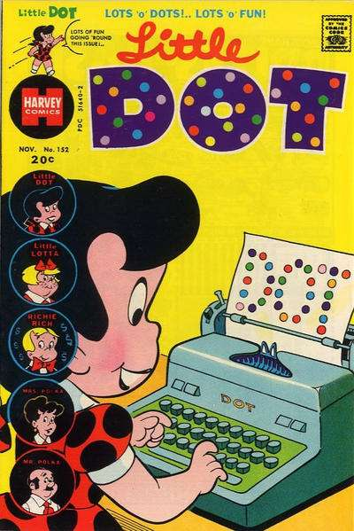 Little Dot #152 Comic Books - Covers, Scans, Photos  in Little Dot Comic Books - Covers, Scans, Gallery