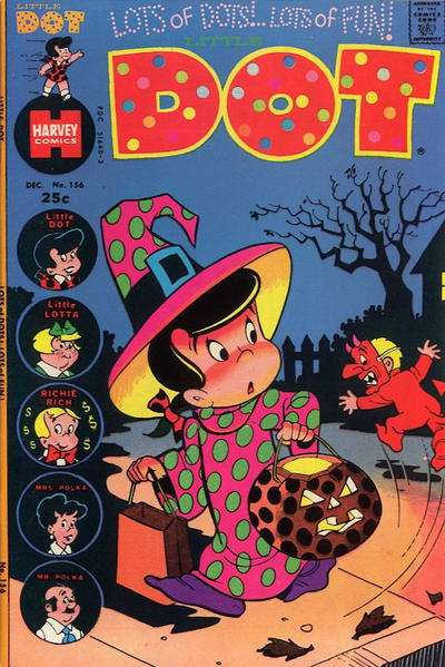 Little Dot #156 Comic Books - Covers, Scans, Photos  in Little Dot Comic Books - Covers, Scans, Gallery