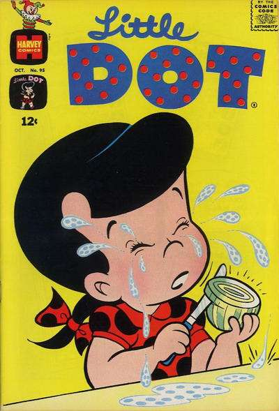 Little Dot #95 comic books - cover scans photos Little Dot #95 comic books - covers, picture gallery