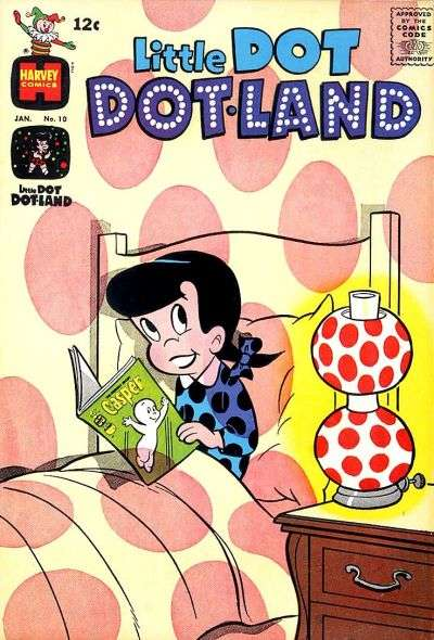 Little Dot Dotland #10 Comic Books - Covers, Scans, Photos  in Little Dot Dotland Comic Books - Covers, Scans, Gallery