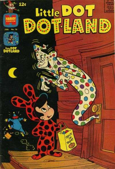 Little Dot Dotland #16 comic books - cover scans photos Little Dot Dotland #16 comic books - covers, picture gallery