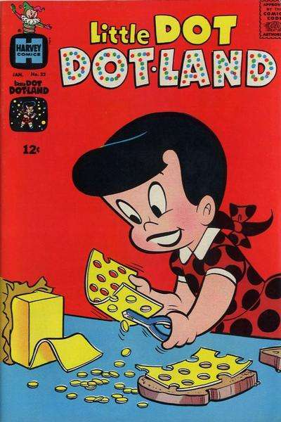 Little Dot Dotland #22 comic books for sale