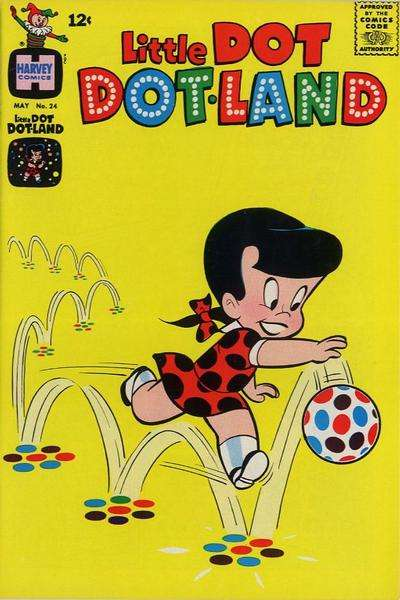 Little Dot Dotland #24 comic books for sale