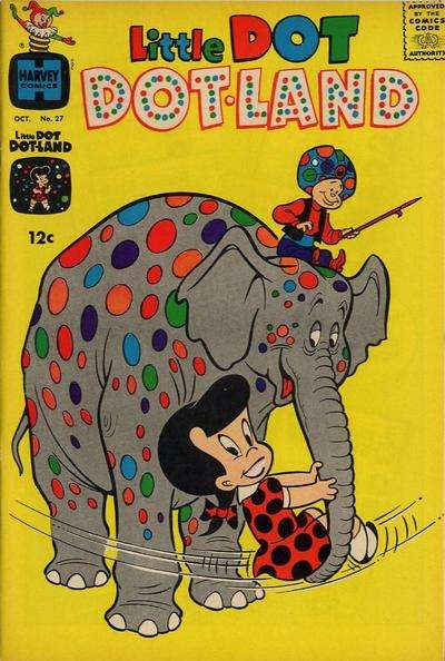 Little Dot Dotland #27 comic books - cover scans photos Little Dot Dotland #27 comic books - covers, picture gallery