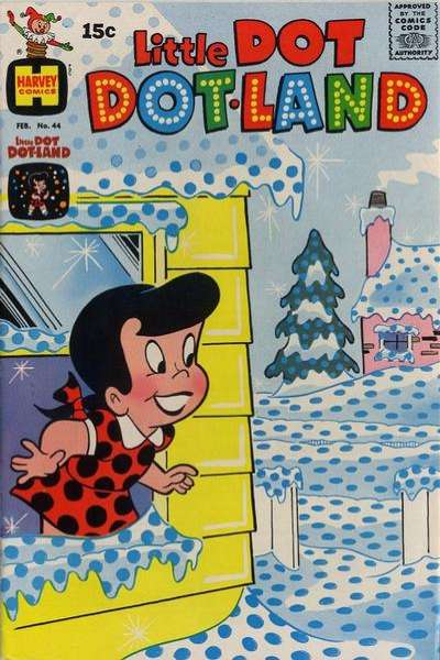 Little Dot Dotland #44 Comic Books - Covers, Scans, Photos  in Little Dot Dotland Comic Books - Covers, Scans, Gallery