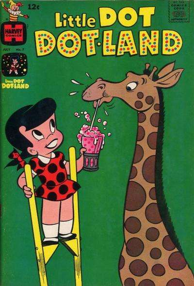 Little Dot Dotland #7 Comic Books - Covers, Scans, Photos  in Little Dot Dotland Comic Books - Covers, Scans, Gallery