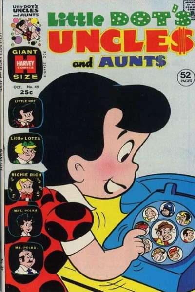 Little Dot's Uncles & Aunts #49 comic books for sale