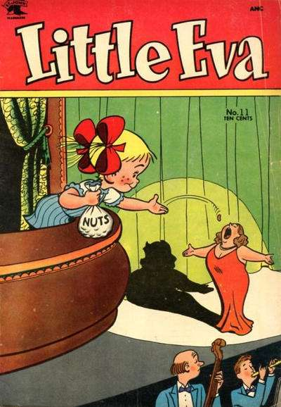 Little Eva #11 comic books - cover scans photos Little Eva #11 comic books - covers, picture gallery