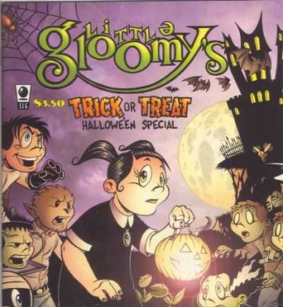 Little Gloomy's Halloween Special #1 comic books - cover scans photos Little Gloomy's Halloween Special #1 comic books - covers, picture gallery