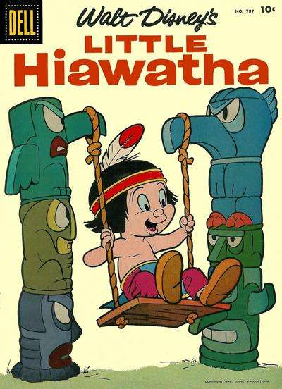 Little Hiawatha #2 comic books - cover scans photos Little Hiawatha #2 comic books - covers, picture gallery