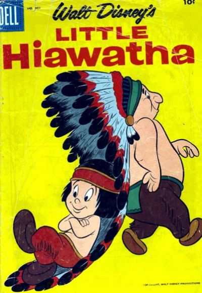 Little Hiawatha #3 comic books - cover scans photos Little Hiawatha #3 comic books - covers, picture gallery