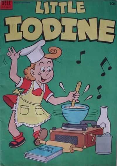 Little Iodine #19 comic books for sale