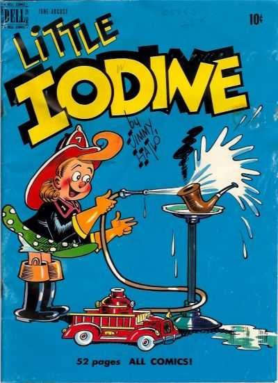 Little Iodine #2 Comic Books - Covers, Scans, Photos  in Little Iodine Comic Books - Covers, Scans, Gallery