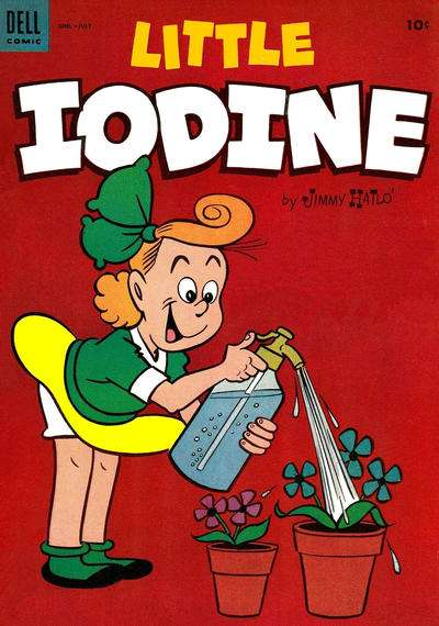 Little Iodine #24 comic books for sale