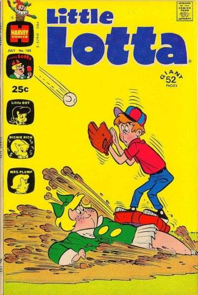Little Lotta #102 comic books for sale