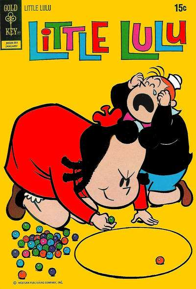 Little Lulu #209 Comic Books - Covers, Scans, Photos  in Little Lulu Comic Books - Covers, Scans, Gallery