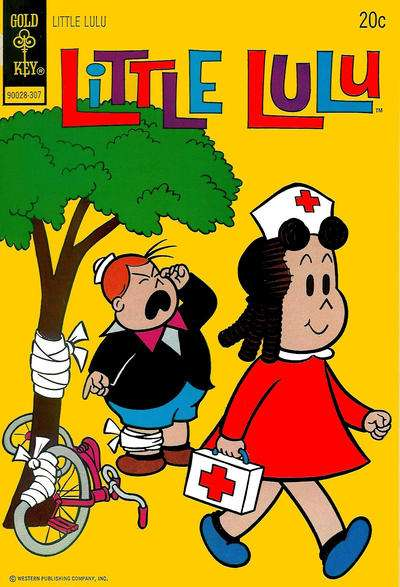 Little Lulu #212 Comic Books - Covers, Scans, Photos  in Little Lulu Comic Books - Covers, Scans, Gallery