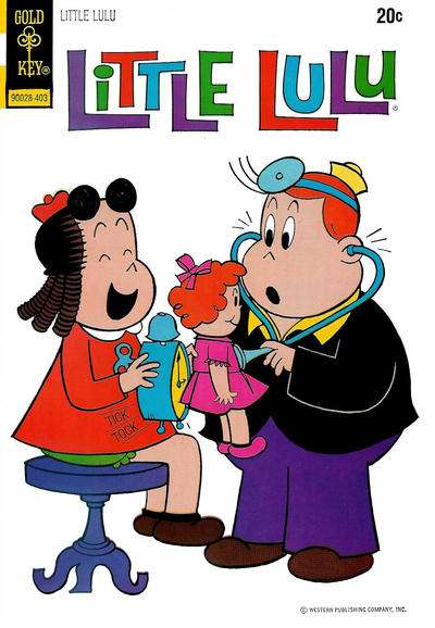 Little Lulu #217 Comic Books - Covers, Scans, Photos  in Little Lulu Comic Books - Covers, Scans, Gallery