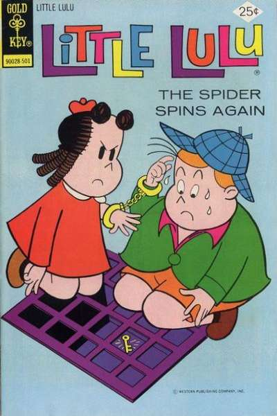 Little Lulu #223 comic books - cover scans photos Little Lulu #223 comic books - covers, picture gallery