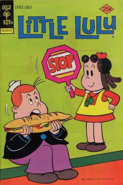 Little Lulu #231 Comic Books - Covers, Scans, Photos  in Little Lulu Comic Books - Covers, Scans, Gallery