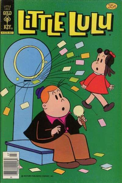 Little Lulu #246 Comic Books - Covers, Scans, Photos  in Little Lulu Comic Books - Covers, Scans, Gallery