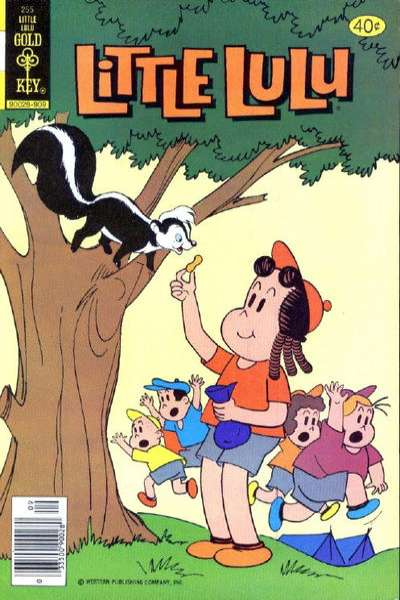 Little Lulu #255 Comic Books - Covers, Scans, Photos  in Little Lulu Comic Books - Covers, Scans, Gallery